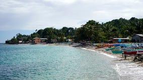 Jagna strand, Bohol, filippin royaltyfri bild