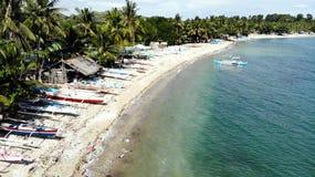 Jagna strand, Bohol, filippin arkivbild