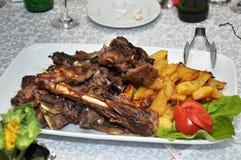 Jagnięcy mięso Zdjęcia Stock