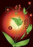 jagod czerwieni wektor Obrazy Royalty Free