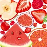 jagod owoc mieszanki czerwień Zdjęcie Royalty Free