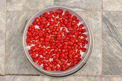 Jagoda deseru kolekcja Fotografia Royalty Free