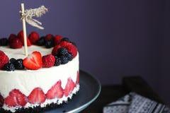 Jagoda tort Obraz Royalty Free