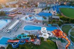 Free Jagodina City From Aerial Drone View, Serbia Royalty Free Stock Image - 216854196