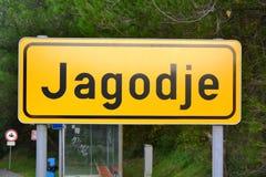 Jagodje, Isola, Slovenia, l'Adriatico, Capodistria, Piran Fotografia Stock