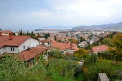 Jagodje, Izola, Eslovenia, Adriático, Koper, Piran foto de archivo