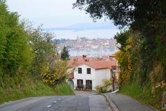 Jagodje, Izola, Slovénie, l'Adriatique, Koper, Piran Photos libres de droits