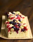 Jagodowej owoc tort Obrazy Royalty Free