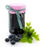 jagodowy błękitny dżem Zdjęcia Royalty Free