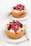 Jagodowy cheesecake Fotografia Stock