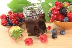 jagodowy dżem zdjęcie royalty free