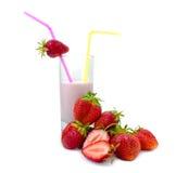 jagodowy jogurt Obrazy Stock