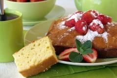 jagodowy kulebiak Zdjęcie Royalty Free