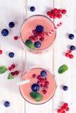 Jagodowy smoothie Obraz Royalty Free