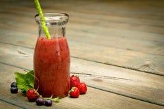 Jagodowy smoothie Fotografia Stock