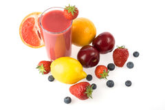 jagodowy smoothie Zdjęcie Royalty Free