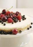 jagody cheesecake Zdjęcia Royalty Free