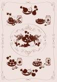 jagody fruit set Obrazy Stock