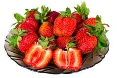 jagody truskawkowe Obrazy Royalty Free