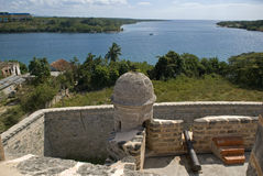 Jagua Fort, Cienfuegos, Cuba Royalty Free Stock Images