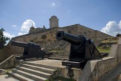 Jagua fort, Cienfuegos, Kuba Fotografia Royalty Free