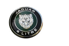 Jaguar 4 Liter Royalty Free Stock Photography