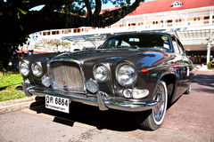 Jaguar 420 G  on Vintage Car Parade Royalty Free Stock Photography