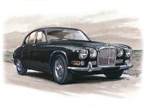 Jaguar 420 illustration libre de droits