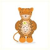 Jaguar  animal safari  jungle  toy  cartoon  Stock Photo