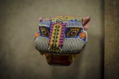 Jaguar antiguo Skulpture Fotografía de archivo
