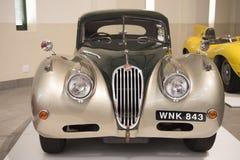 Jaguar antique car Stock Photos