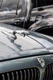 Jaguar-autoembleem en embleem Royalty-vrije Stock Foto