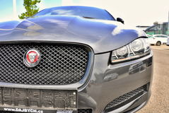 Jaguar brandnew XF Imagem de Stock Royalty Free