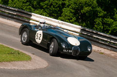 Jaguar C Type replica Royalty Free Stock Photos