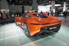 Jaguar C-X75 pojęcia pojazdu forma widmo film Obrazy Stock