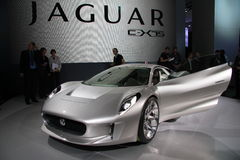 JAGUAR C-X75 Stock Photo