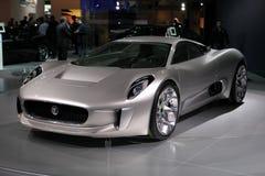 The Jaguar C-X75 Concept Royalty Free Stock Photos