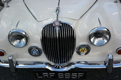 Jaguar car front grille Stock Photos