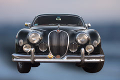 Jaguar car old timer Royalty Free Stock Images