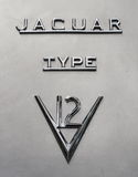 Jaguar Cars typeface Stock Photography