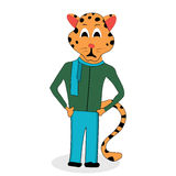 Jaguar character design Stock Photo
