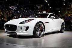 Jaguar CX 16 Concept at the Los Angeles Auto Show Stock Image