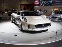 Jaguar Cx 16 främre sikt Royaltyfria Bilder