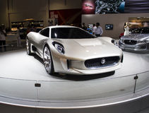 Jaguar Cx 16 front view Royalty Free Stock Images