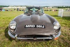 Jaguar d'annata E tipo Immagine Stock