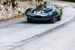 JAGUAR-D-TYPE 1956 Stock Foto's