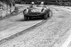 JAGUAR-D-TYPE 1956 Royalty-vrije Stock Foto