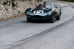 JAGUAR-D-TYPE 1956 Stock Fotografie