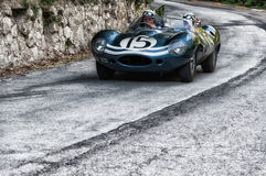 JAGUAR-D-TYPE 1956 Stock Foto