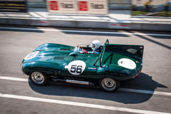 Jaguar-D-Type Raceauto Royalty-vrije Stock Foto